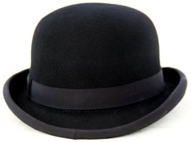 100% Felt Bowler Hat - Size 58cm
