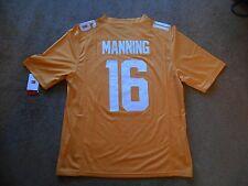 Peyton Manning #16 Tennessee Volunteers STITCH SEC Football Jersey Men L TAG NEW