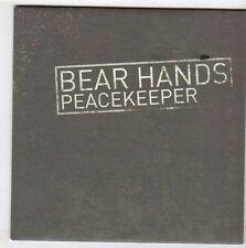 (EZ17) Bear Hands, Peacekeeper - 2014 DJ CD