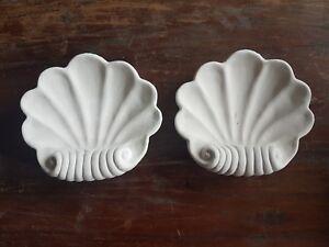 2-fronton-arquitectonico-recargado-Shell-Yeso-Adorno-Ornamento-de-placa-de-pared