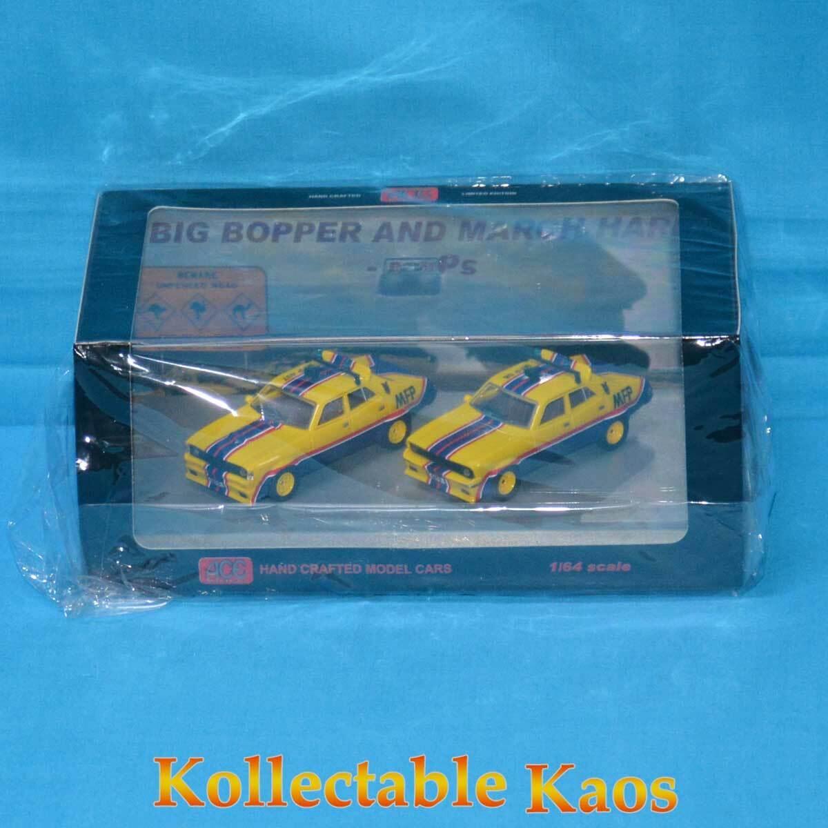 1 64 Ford Falcon Interceptor XA March Hare & XB gree Bopper Twin Set