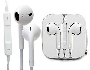 apple kit main libre ecouteur authentique avec micro pour iphone 5 5s ebay. Black Bedroom Furniture Sets. Home Design Ideas