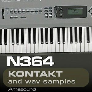 KORG N364 SAMPLES for KONTAKT 77 NKI + 1119 WAV 24BIT MAC PC MPC