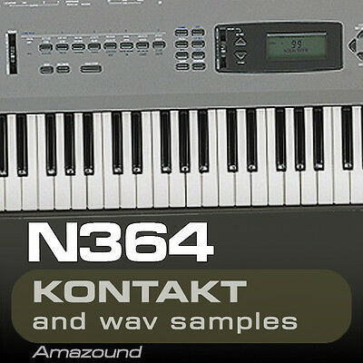 KORG N364 SAMPLES for KONTAKT 77 NKI + 1119 WAV 24BIT MAC PC MPC LOGIC CUBASE FL