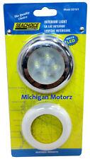 "NEW SeaChoice BLUE 4 LED Round Courtesy Interior Light 3 Inch 3/"" 12V SCP 03121"