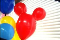 20pcs Mickey Mouse shape latex balloon Animal balloon for party decoration Toy