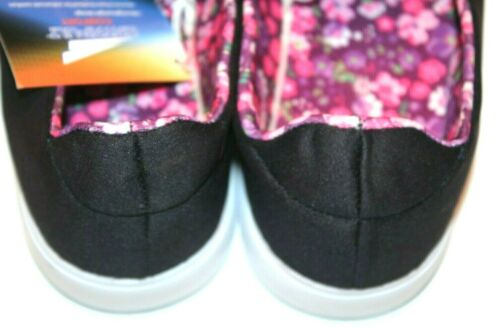 Catapult Women/'s Riley Navy//Pink Floral Slip-on Sneakers Shoes