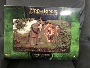Sideshow-WETA-Meeting-Of-Old-Friends-Wall-Plaque-Used-1517-3000-LOTR