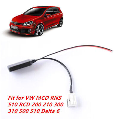 Aux en adaptadores Bluetooth cable para VW RCD 200 210 300 310 500 510 mfd2 radio RNS