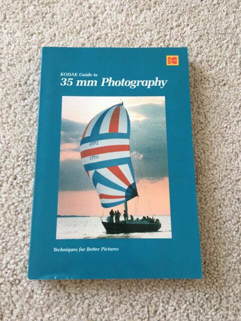 Vintage 1984 KODAK GUIDE TO 35 MM PHOTOGRAPHY, paperback great condition