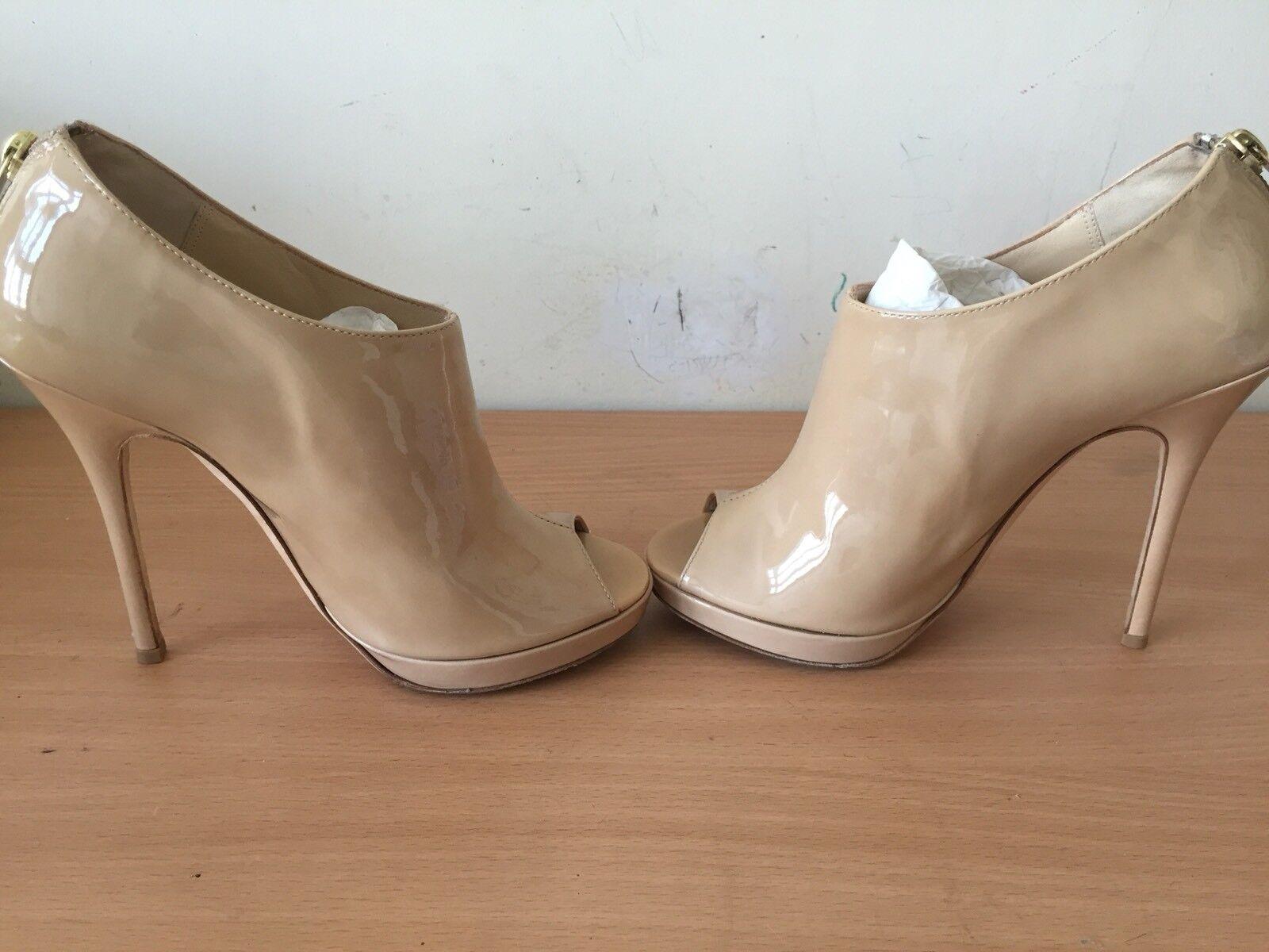 Jimmy Choo 36,5 Reino elegante Unido 3,5 Beige Glint botas, elegante Reino 8636c1