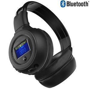 B570 Plegable Bluetooth 3.0 Estéreo Música Inalámbrica Auriculares Micrófono