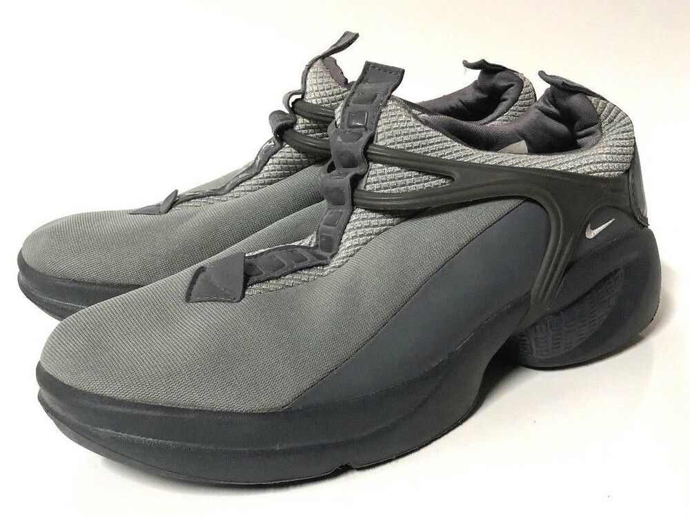 NIKE THE INFLUENCE homme chaussures DARK Gris Taille 9 VINTAGE  2001 RELEASE 302280-001