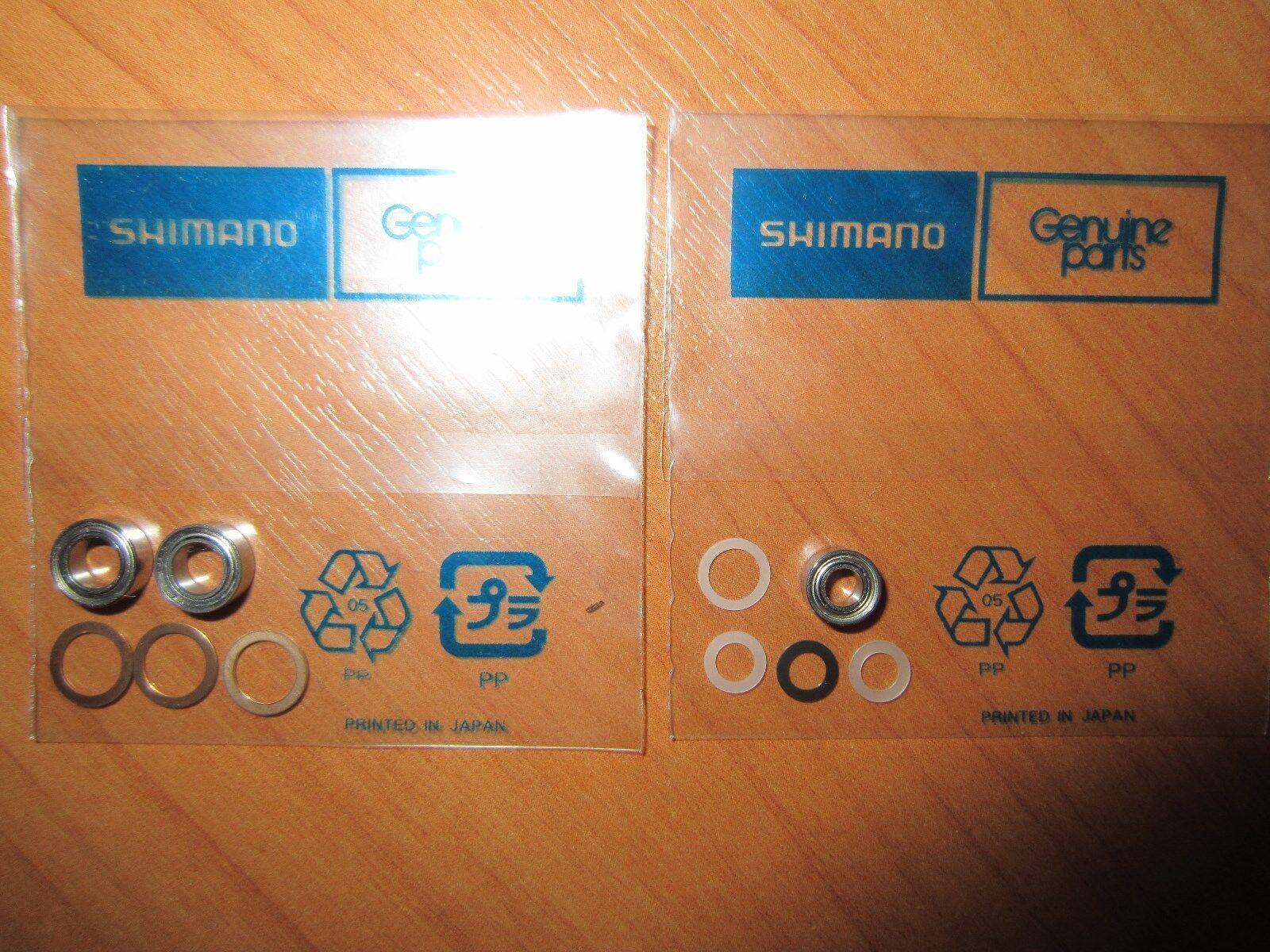 Shimano  Ultegra 2500 C3000 4000 1000 Worm Shaft Handle Knob 3 Ball Bearing Kit  new branded