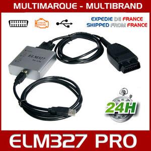 DéVoué Valise Interface Elm327 Pro Usb Voiture Scanner Obd Obd2 Diagnostic Multi Diag Nous Avons Gagné Les éLoges Des Clients