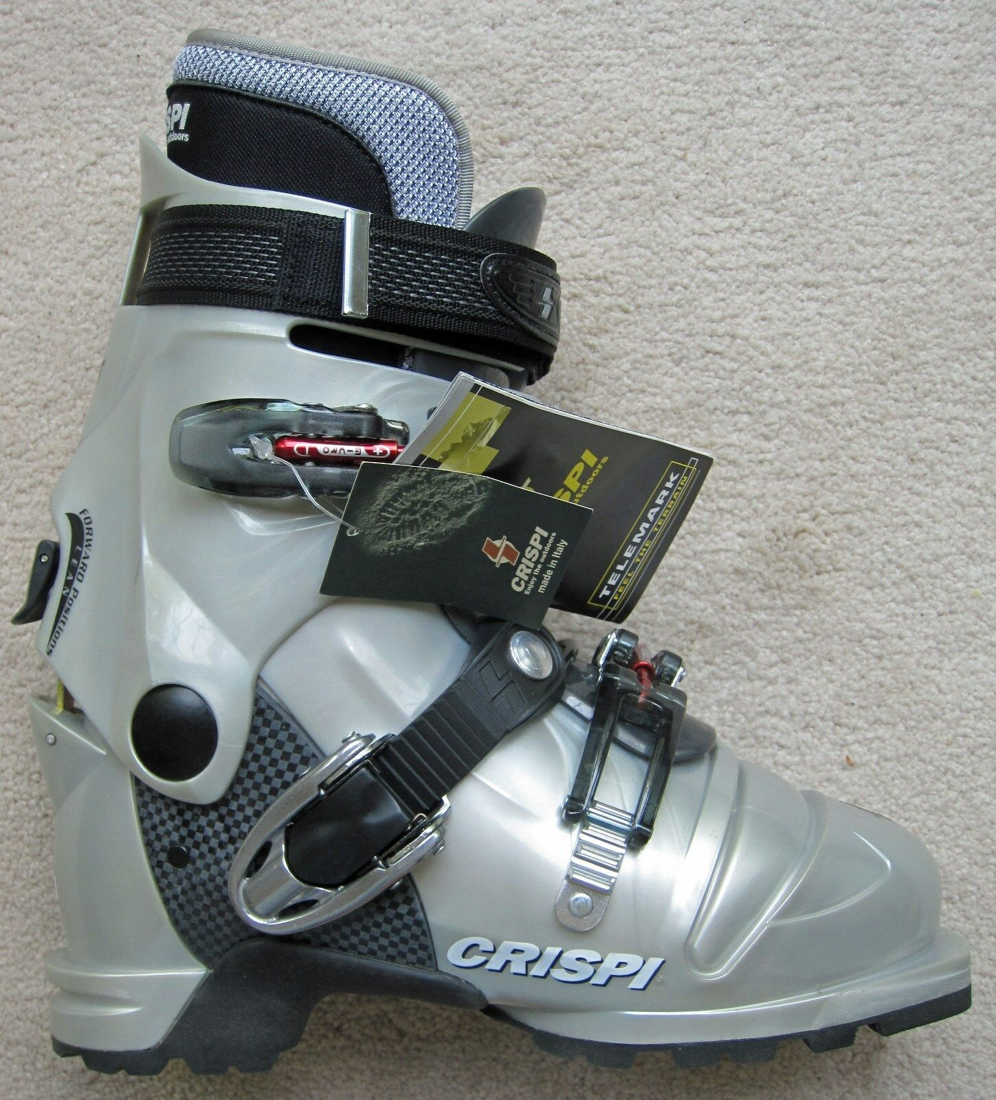 NEW CRISPI DIABLO LADY THERMO AT (ALPINE TOURING) BOOTS - 25.5