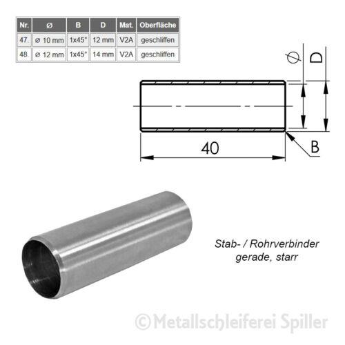 Edelstahl Rohrverbinder Bogen Fitting Verbinder Kappen Gelenkverbinder Geländer