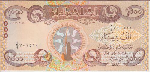 New 1,000 Dinars 2018 UNESCO Commemorative Iraq Banknote P UNC