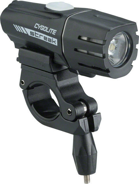 CygoLite Streak 450 Lumen USB Rechargeable Bicycle Bike Cycling Headlight Light