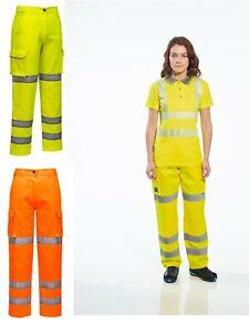 Portwest LW71 Femmes Premium Hi-Vis Pantalon Workwear-Couleurs diverses