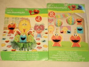 Amazing Details About Designware Sesame Street 1St Birthday Table Decorating Kit Party Supplies Interior Design Ideas Tzicisoteloinfo