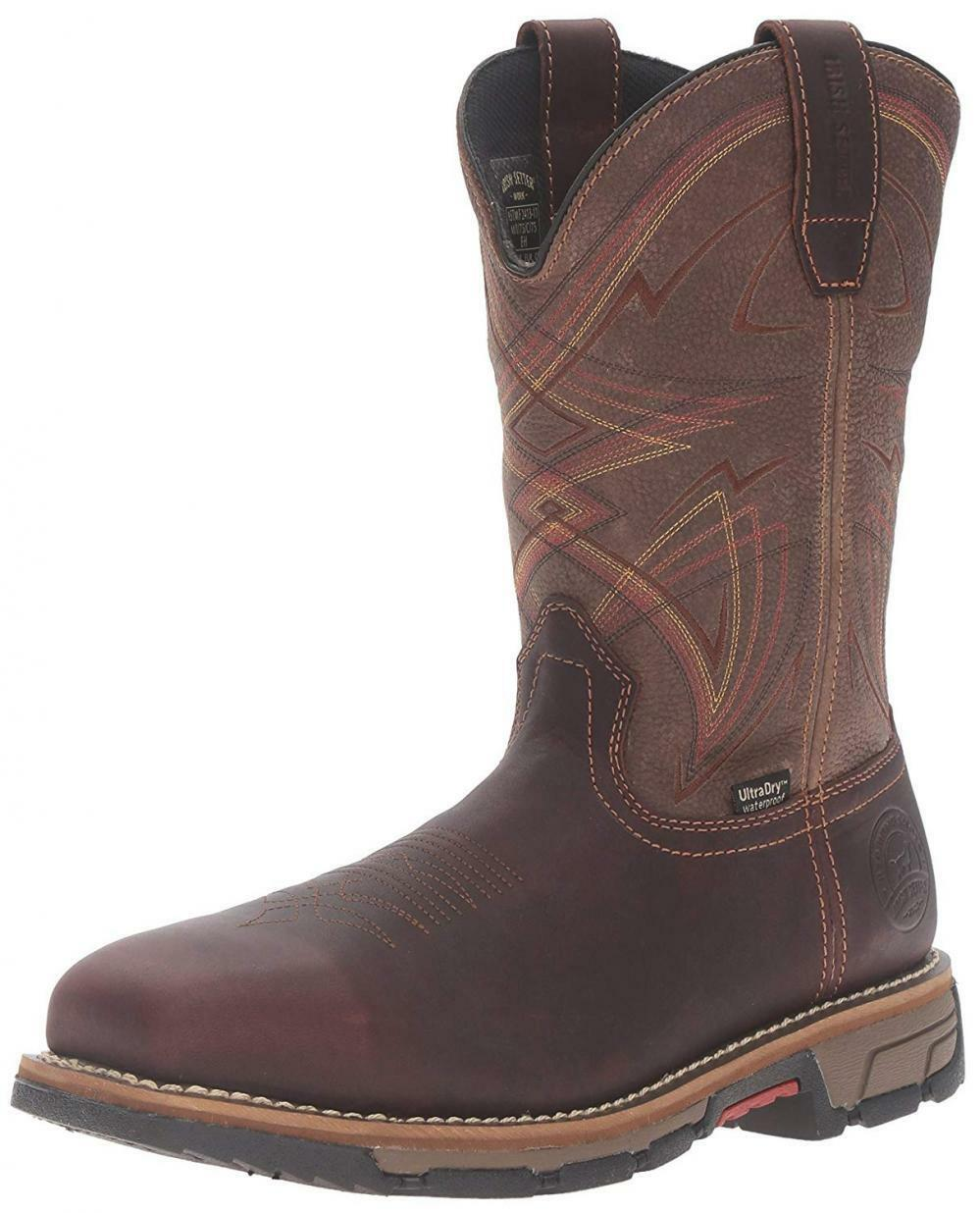 Irish Setter Work Men's Marshall 83930 Pull-On Steel Toe Boot