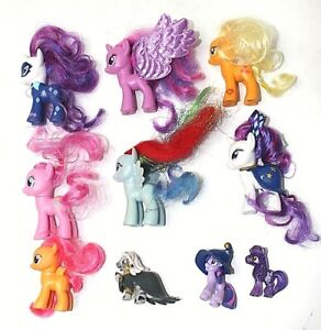 10 My Little Pony Mlp Figures Power Wizard Rainbow Models Toys Joblot Genuine 5 Ebay