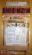7 x 10 Tamper Evident Clear Plastic Bank Deposit Bag, Pkg of 1000