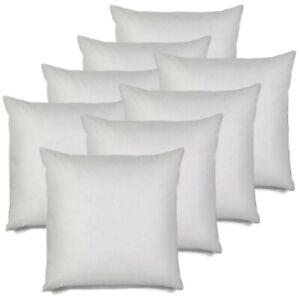 Marvelous Details About Set Of 8 26X26 Pillow Insert Euro Sham Couch Cushion White Polyester 26 Inch Inzonedesignstudio Interior Chair Design Inzonedesignstudiocom
