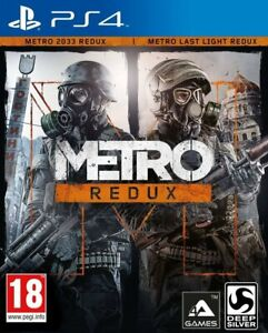 Metro-Redux-For-PS4-New-amp-Sealed