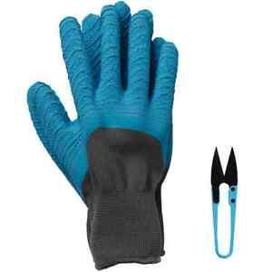 Medium Blue Briers Allium Rigger Gloves