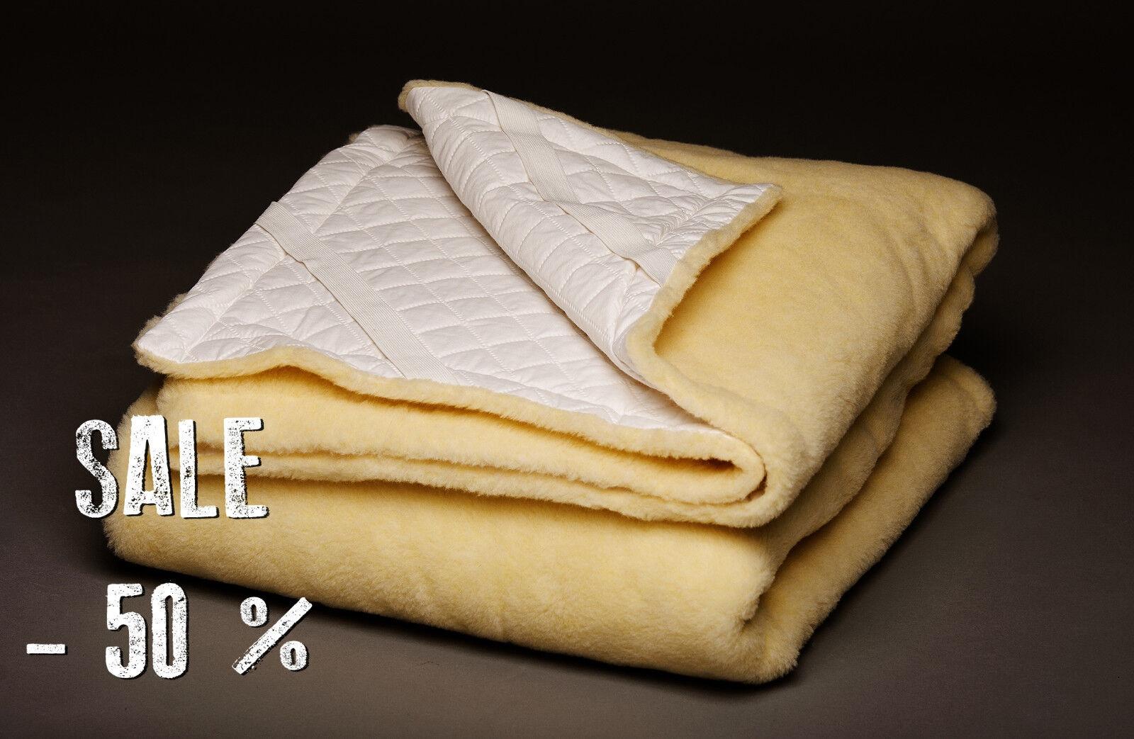 SALE  Natural Norwegian Wool Mattress Sheets   Mattress Toppers