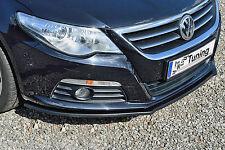Sonderaktion Cuplippe Spoilerschwert Frontspoilerlippe aus ABS für VW Passat CC