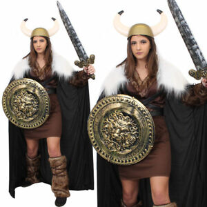987161f87a Vêtements, accessoires Déguisements Viking lady fancy dress costume ancien  guerrier femme