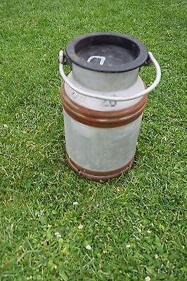 Ddr 167-17 10 Liter Alte Milchkanne Mit Deckel
