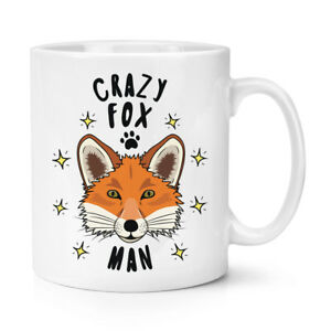 Fou-Fox-Homme-Stars-284ml-Tasse-Drole-Animal