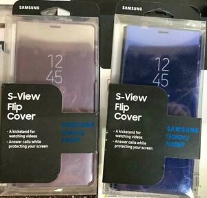 Original-Samsung-S-View-Flip-Cover-Case-for-Samsung-Galaxy-Note-9-Blue-Purple