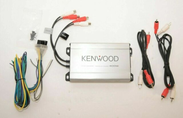 Kenwood KAC-M1804 Compact 4-channel Amplifier