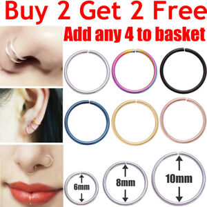 Nose-Ring-Surgical-Steel-Lip-Nose-Rings-Daith-Tragus-Helix-Ring-Piercing-Hoop