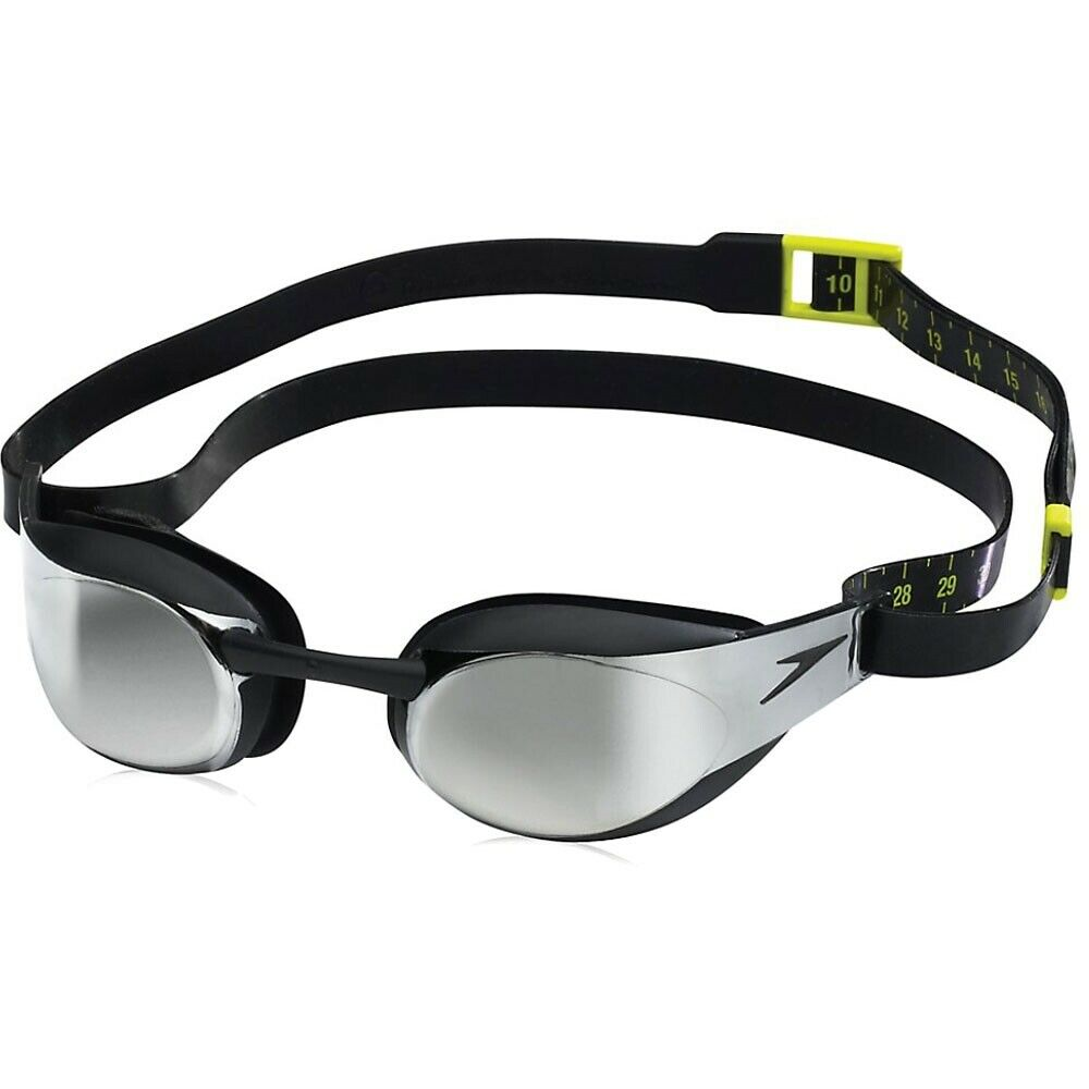 retrasar estar Fruncir el ceño  Speedo Fastskin3 Elite Mirrored Adult Competitive Swim Goggle Black for  sale online | eBay