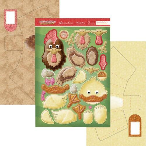 HEN /& DUCK Box Pops Card Making Kit Paper Crafting HUNKYDORY BPFRM903 New