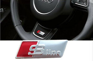 Stemma Volante S LINE per Audi A1 A2 A3 A4 A5 A6 A7 A8 Q5