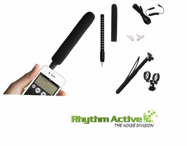 ALCTRON i18 KIT SHOTGUN/TELESCOPIC RECORDING MICROPHONE FOR SMARTPHONES