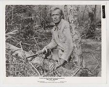 RICHARD WIDMARK (amerikanisches Pressefoto '56) in DER LETZTE WAGEN