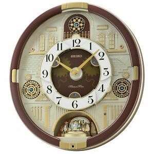 Seiko-Special-Collector-039-s-Edition-Melodies-In-Motion-Wall-Clock-1250-Janelta