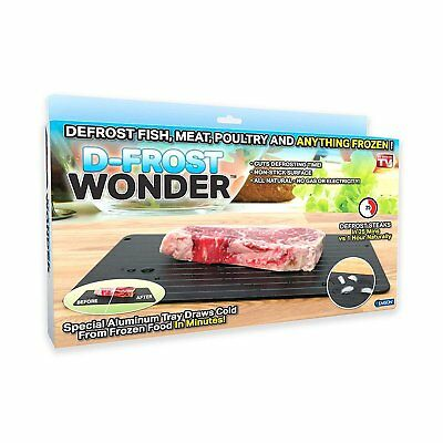D-FROST WONDER – The Safest Way to Defrost Frozen Food Quickly and Naturally NEW