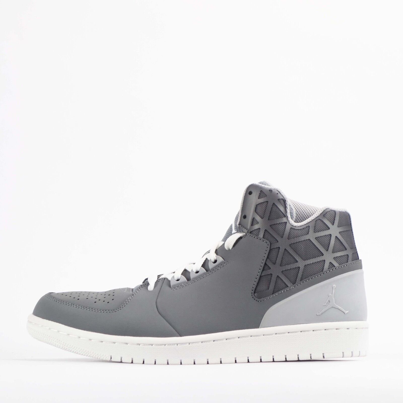 Nike Jordan 1 Flight 3 Mens Trainers shoes Cool Grey White