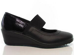 Imac-82100-scarpe-donna-ballerina-zeppa-media-pelle-e-vernice-nero