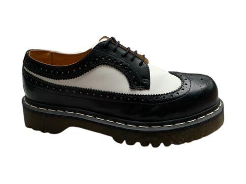 Dr Martens Spectator Shoes Dr Martens White Black