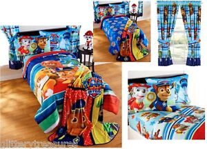 New Kids Girls Boys Paw Patrol Bedding Bed In A Bag